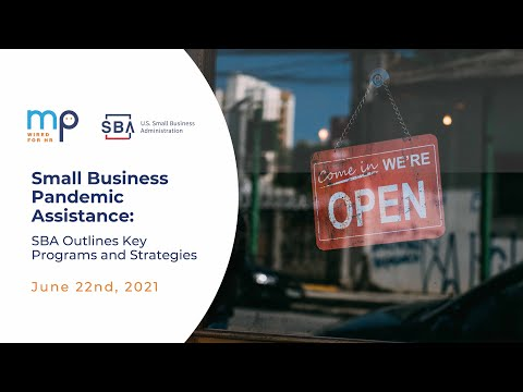 Small Business Pandemic Assistance SBA Outlines Key Programs and Strategies
