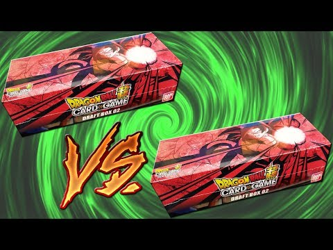 Double Dragon Ball Super Draft Box 2 BATTLE!