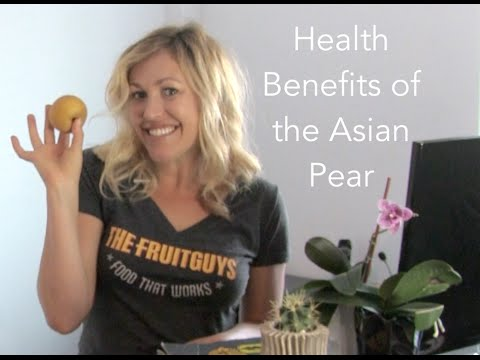 The Nutritional Value of the Asian Pear - The FruitGuys