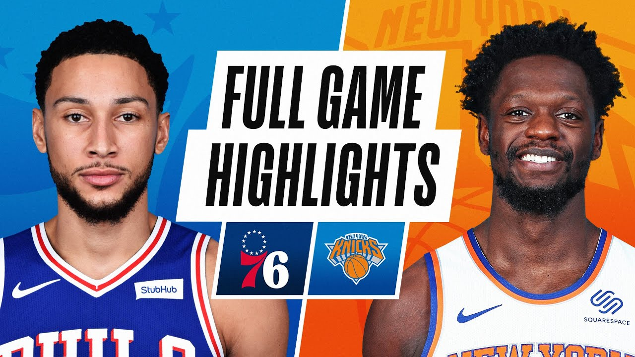 76ERS at KNICKS | FULL GAME HIGHLIGHTS | March 21, 2021