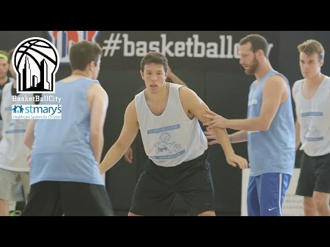 "St. Mary's Hospital ""Hoops for a Cause"" at Basketball City"