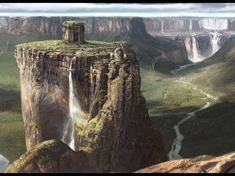 Откуда столько непрерывной воды с гор? Водопады от Пули Снегопада.