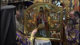 Sfintirea icoanei care va strajui moastele Sfantului Iacob Putneanul