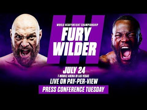 Tyson Fury vs Deontay Wilder III: Los Angeles Press Conference