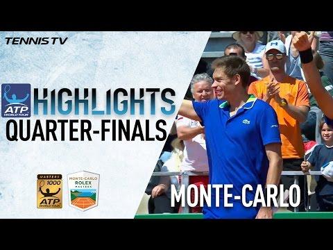 Herbert And Mahut Edge Into Monte Carlo 2017 Semi Finals