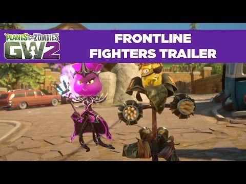 Frontline Fighters Gameplay Trailer | Plants vs. Zombies Garden Warfare 2 | Free Update