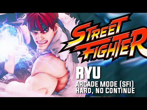 SFV: Ryu, Arcade Mode (SFI Path). HARD, NO CONTINUE.