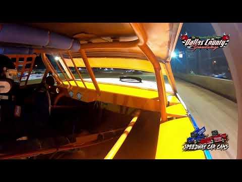 #12 Dalton Phillips - Usra Stock Car - 8-13-2021 Dallas County Speedway - In Car Camera - dirt track racing video image