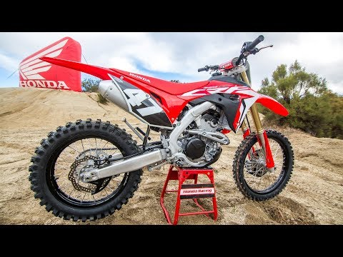 First Ride 2019 Honda CRF250RX - Motocross Action Magazine
