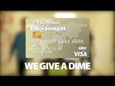 Alpine Bank Gives A Dime about Kathryn Senor Elementary