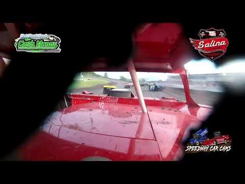 #19 Tyler Barker - Cash Money Late Model - 5-1-2021 Slaina Highbanks - In Car Camera - dirt track racing video image