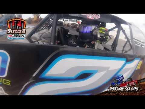 #21m Cole Mckeehan - 602 Late Model - Carolina Sizzler 7-18-21 - In-Car Camera - dirt track racing video image