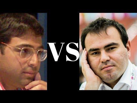 Interesting Chess Game: Vishy Anand vs Shakhriyar Mamedyarov : Tal Memorial (Rapid) (2018) : French