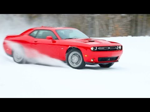 2017 Dodge Challenger GT (AWD) ? Test Drive on Snow