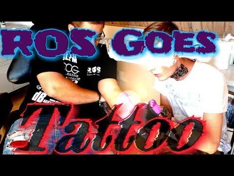 ROS Tatuerar sig, gissa vad? ;) VLOGG