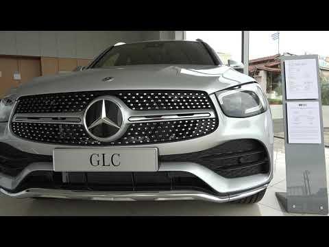 The 2020 Mercedes GLC300d SUV interior exterior walkaround