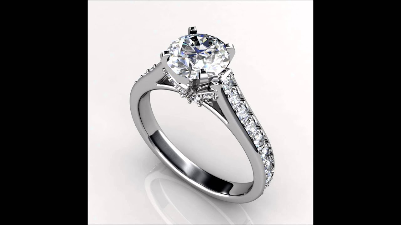 Bridal Sets Engagement Rings Promise Rings Solitaire Engagement Rings Wedding Bands Chicago IL - YouTube