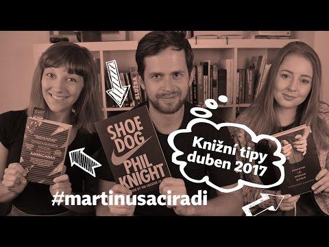 Dubnové knižní tipy: Amerikána, Nike, sekty, příběhy  #martinusaciradi
