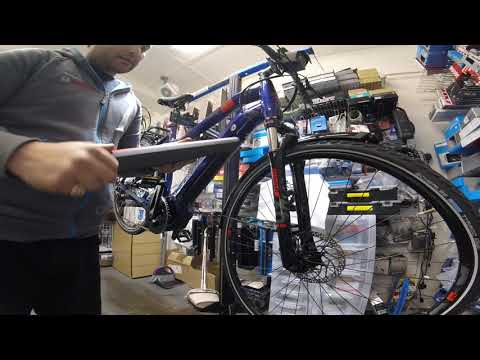 How to Remove and Refit a Yamaha InTube Battery on a 2020 Haibike eBike Sussex Product Review