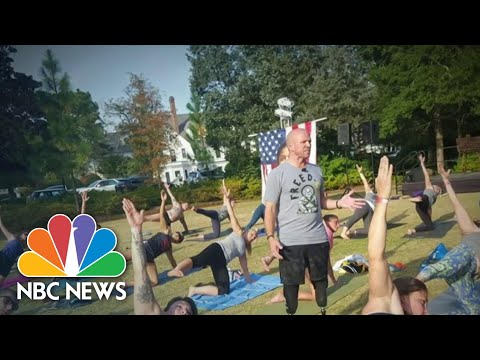 Veteran Uses Yoga To Find Healing For Himself And Others | NBC Nightly News