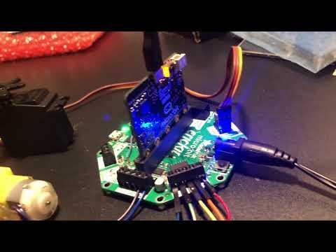 Coming soon @adafruit #CRICKIT for @microbit_edu @MSMakeCode and more! #microbit #robotics