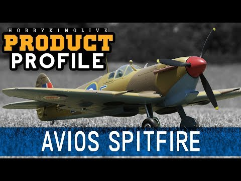 Avios Spitfire MkVb Super Scale 1450mm Warbird - HobbyKing Product Profile - UCkNMDHVq-_6aJEh2uRBbRmw