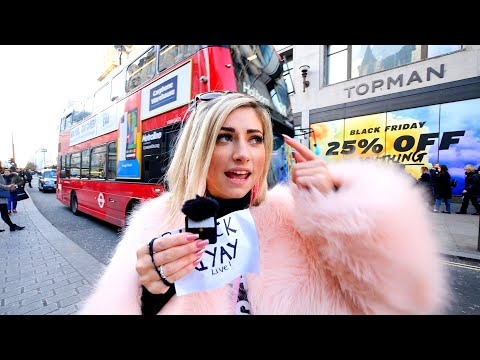 BEST BLACK FRIDAY (& Cyber Monday) DEALS LIVE ON THE STREETS OF LONDON 🇬🇧