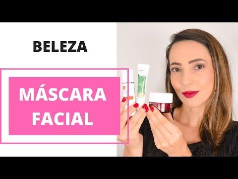 Máscara Facial: peeling, vitamina C e contorno dos olhos