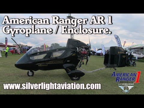 American Ranger AR 1, Gyrocopter, Enclosure, Hill Country Gyro's, Silverlight Aviation.