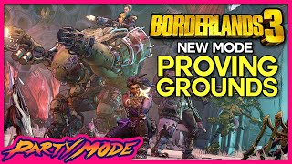 Kinda Funny Plays Borderlands 3 BRAND NEW Proving Grounds - Party Mode