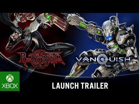 Bayonetta & Vanquish 10th Anniversary Bundle | Launch Trailer