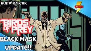 Birds of Prey Update!   Ewan McGregor is GREAT as  Black Mask!!!