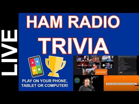 Ham Radio Trivia Live - Dec 18th 2020 8pm CST Come Play!