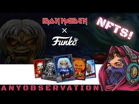Iron Maiden Funko NFTs on WAX!