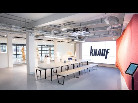Knauf showcases its building products in new London showroom by Mailen Design