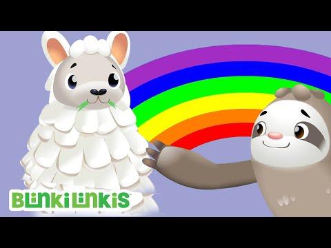 Die Regenbogen Party | BlinkiLinkis | Fisher-Price | Kinderlieder | Cartoons für Kinder