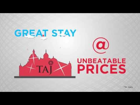 MakeMyTrip's Cashless Travel Carnival - Taj Hotel Offer