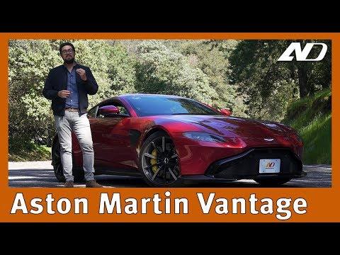 Aston Martin Vantage - Orgullo británico con corazón alemán
