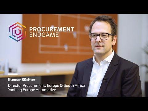 Gunnar Büchter (Yanfeng Europe Automotive) on The Procurement Endgame