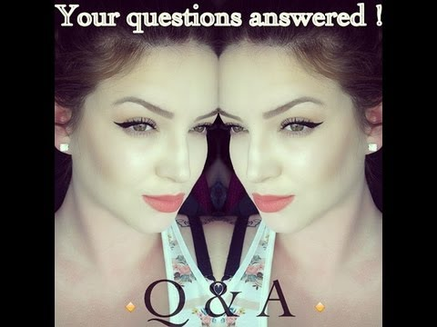 Q & A ♡ Your questions answered! - stillglamorus
