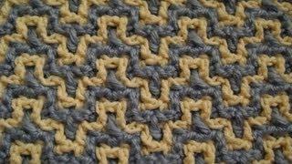 Interlocking Crochet Bargello Youtube