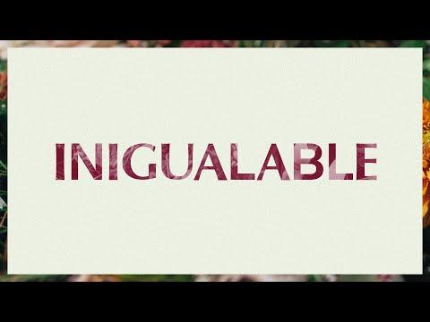 Inigualable (No One Beside)  Video Oficial Con Letras  Elevation Worship