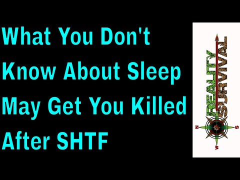 What You Don't Know About Sleep May Get You Killed After SHTF