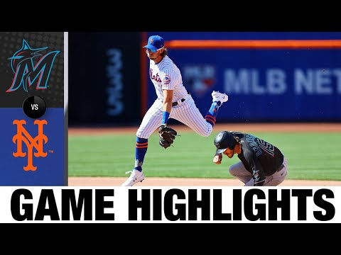 Marlins vs. Mets Game Highlights (4/8/21) | MLB Highlights