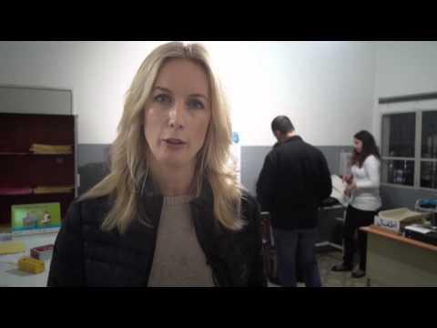 Jenny Strömstedt besöker flyktingläger i Libanon