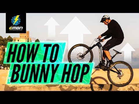 How To Bunny Hop Your E Bike | EMTB Skills