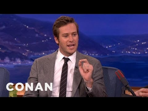 Armie Hammer Had A Weird First Meeting With Johnny Depp ...