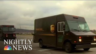 NBC News: Some UPS Drivers Face Health Risks In Trucks Without Air Conditioning | NBC Nightly News