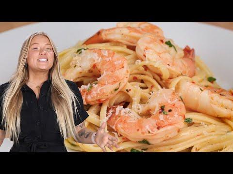 How To Make Alix's 3-Course Shrimp Scampi Dinner ? Tasty
