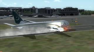 PIA 777 Plane Crash Washington D.C. [Reagan Airport]